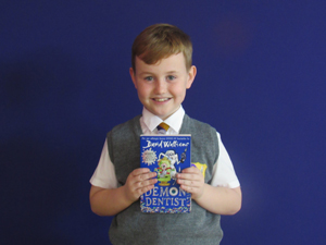 Harry Year 5 My favourite book is The Demon Dentist by David Walliams. I love this book because it is comical and there is so much detail it builds brilliant pictures in your head.