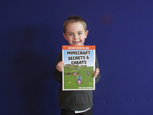 Josh Year 3 My favourite book is Minecraft Secrets and Cheats. I love this book because I enjoy reading about animals. It also tells me how to play Minecraft.